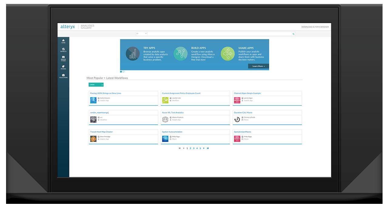Alteryx server plan en automatiseer het uitvoeren van je workflows voor data preparatie, dataverrijking en predictive analytics in een enterprise omgeving