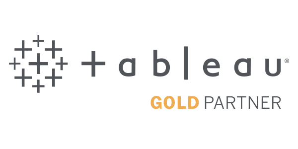 Tableau Gold Partner met gecertificeerde consultants en gecertificeerde trainers
