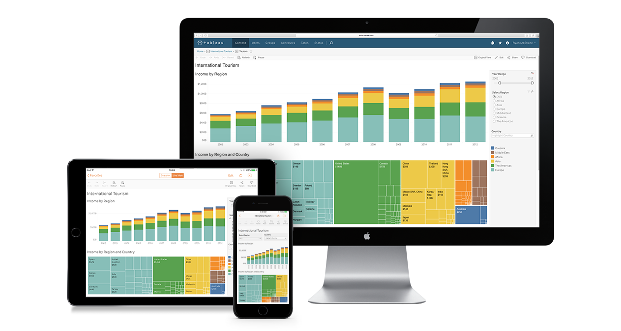 Self service data analytics platform in the cloud - Tableau Online