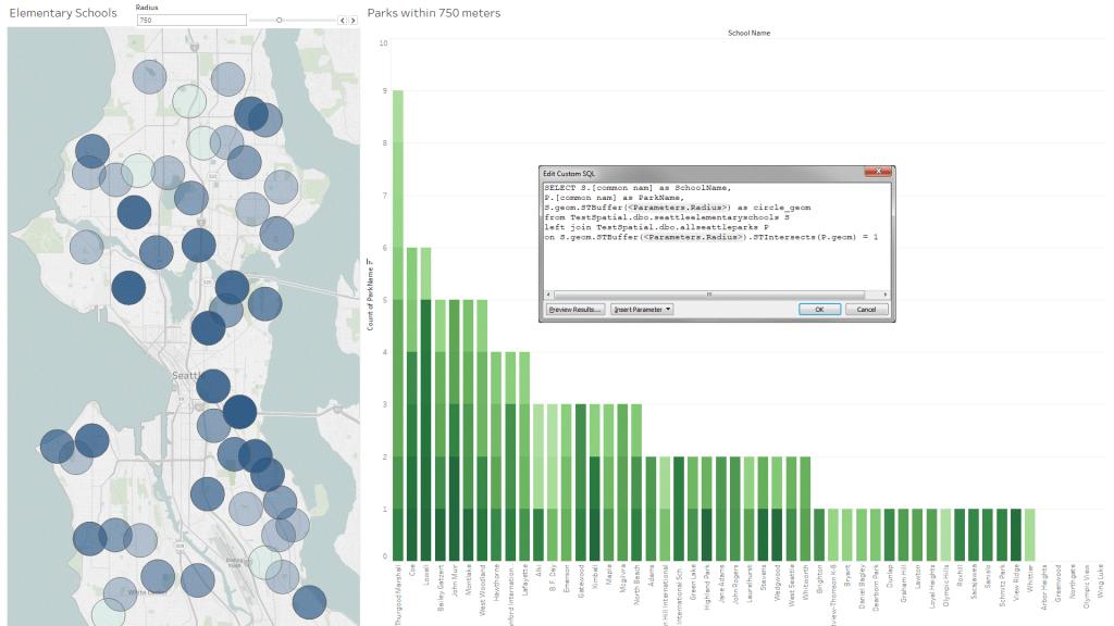 Blog Tableau 10.5 - Verbind met spatial vanuit SQL Server - Infotopics Tableau Gold Partner