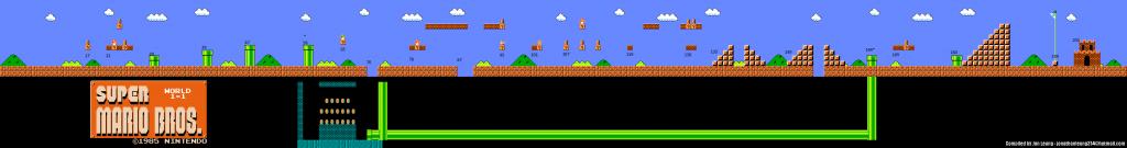 Mario in Tableau - Play Super Mario Bros in Tableau using Tableau Extensions