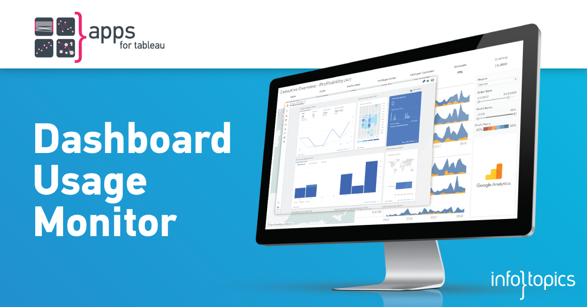 AppsforTableau Tableau Dashboard extensions en smart solutions by Infotopics #dashboardusage