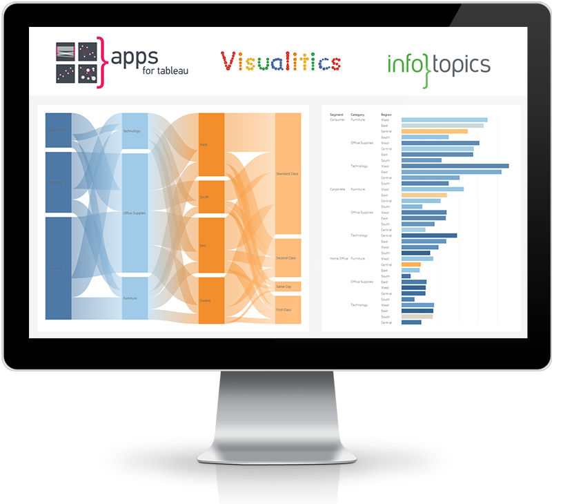 APPSFORTABLEAU ANNOUNCES PARTNERSHIP WITH VISUALITICS (IT)