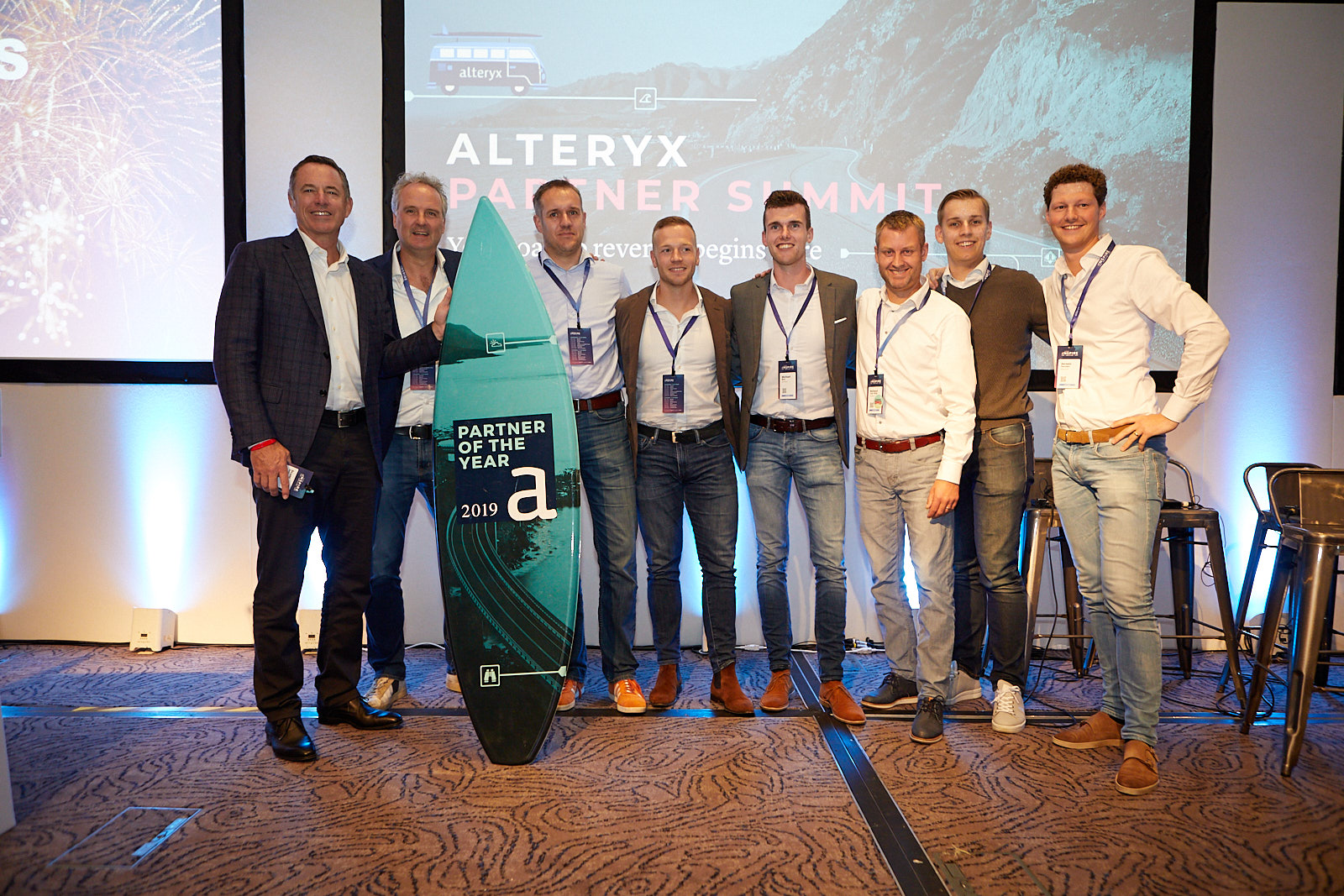 Infotopics Alteryx Benelux Partner of the Year 2019