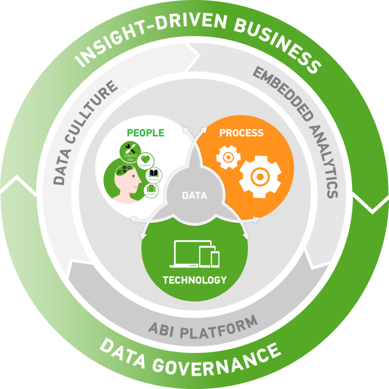 Circle of Analytical excellence to help organizations to become insight driven
