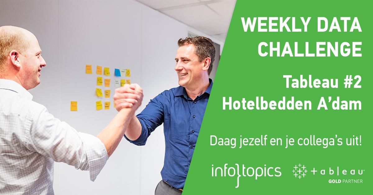 202006004 Weekly Data Challenge Tableau #2 hotelbedden Amsterdam en omgeving