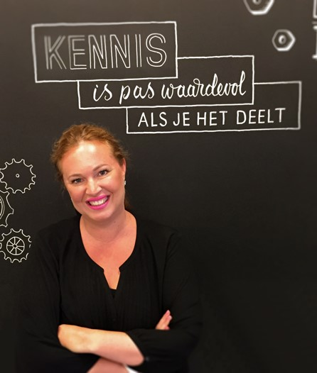 Marieke van Woerkom - Timing - klant Infotopics