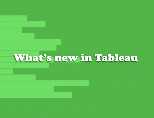 What's new in Tableau